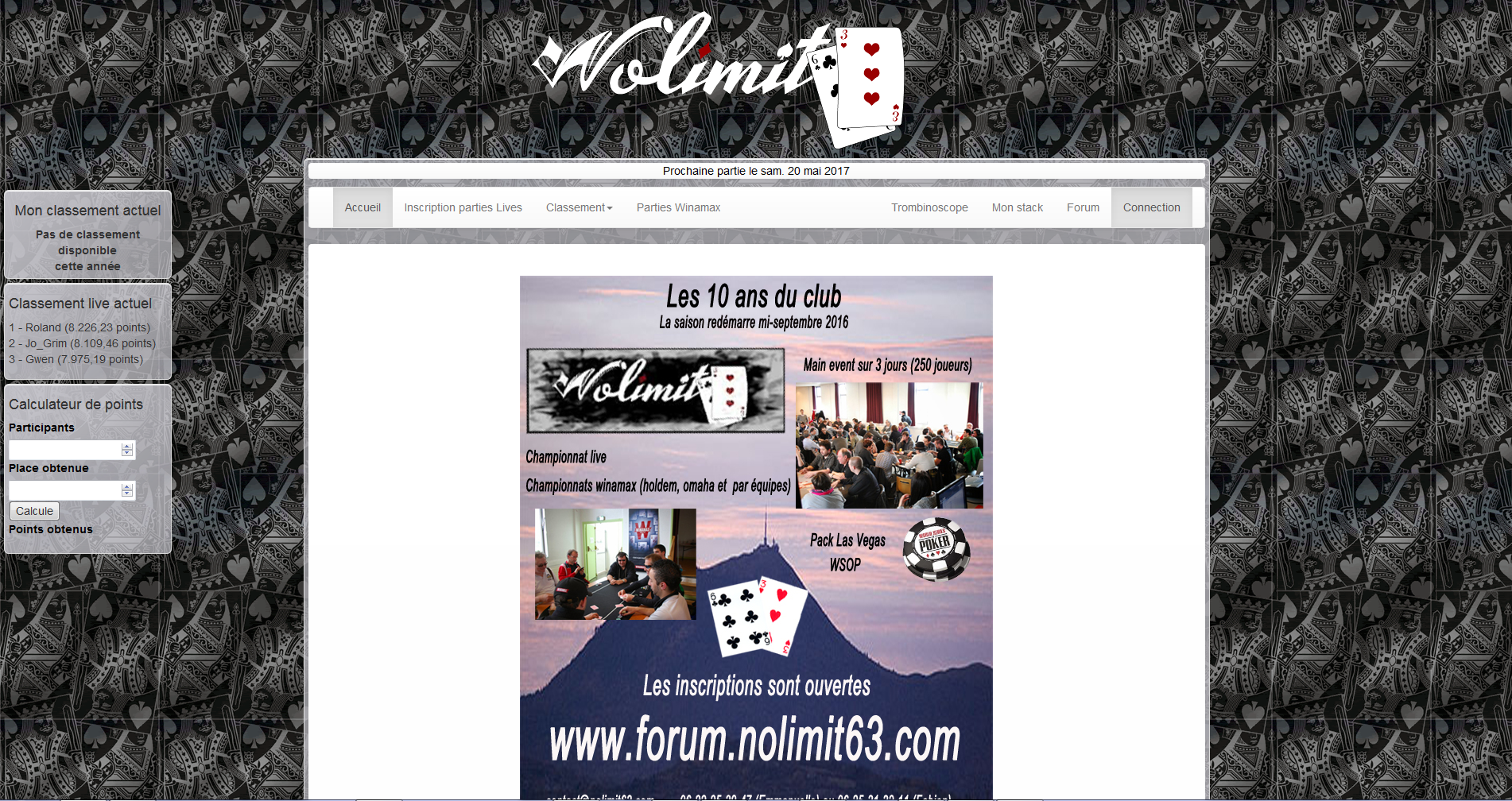 Nolimit63 poker